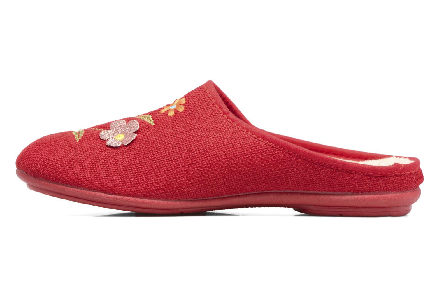 Chaussons Rondinaud Semoy Rouge vue face