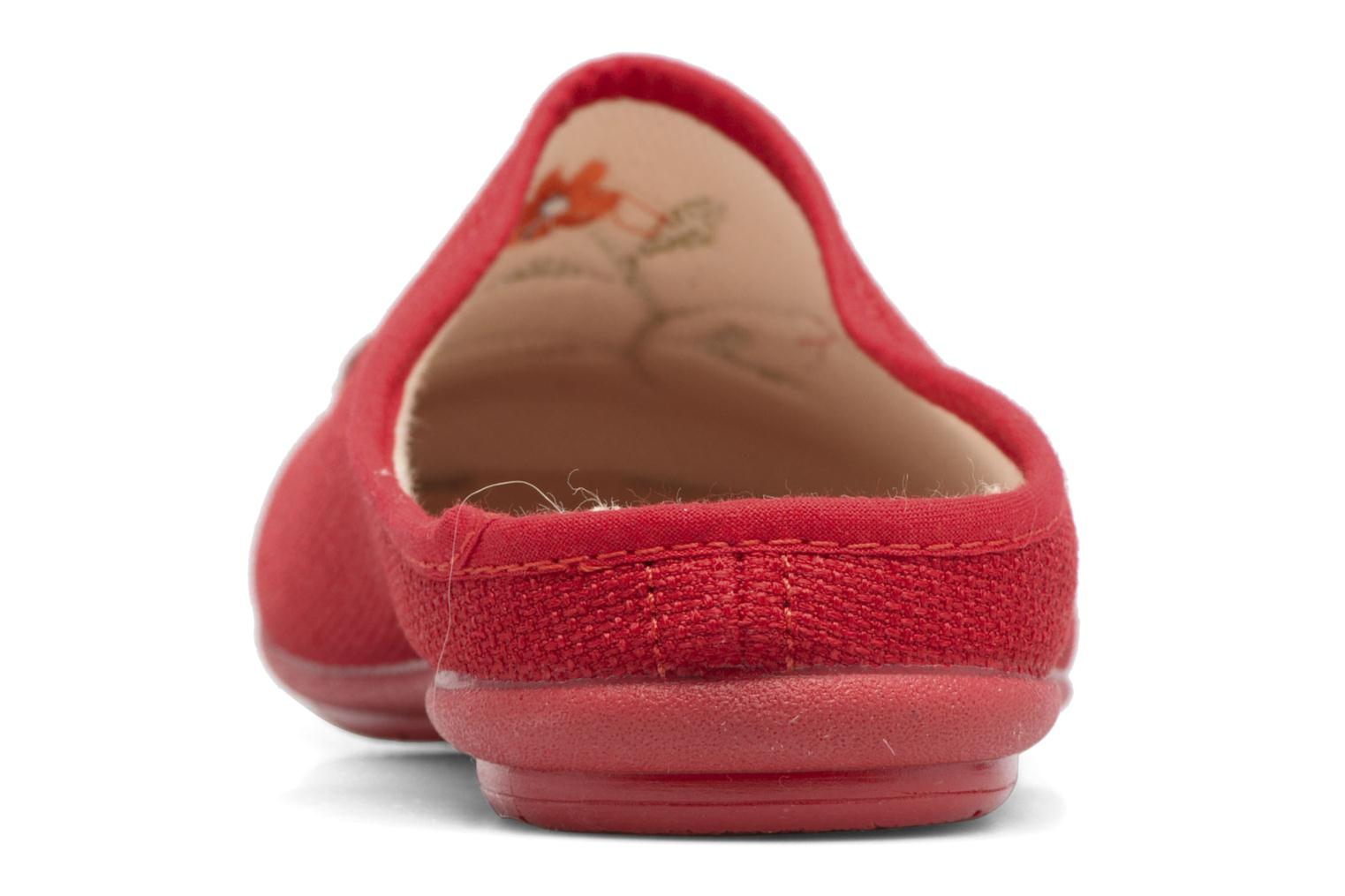 Chaussons Rondinaud Semoy Rouge vue droite