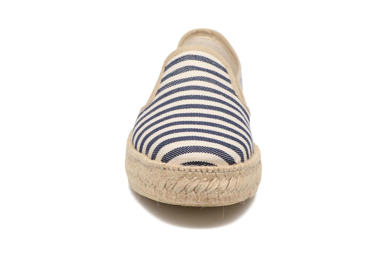 Espadrilles Rondinaud Dourbie Bleu vue portées chaussures