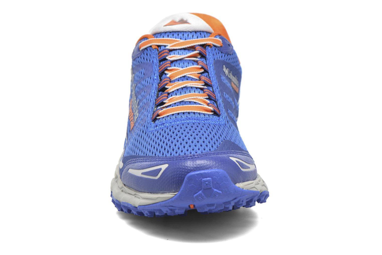 Chaussures de sport Columbia Bajada III Bleu vue portées chaussures