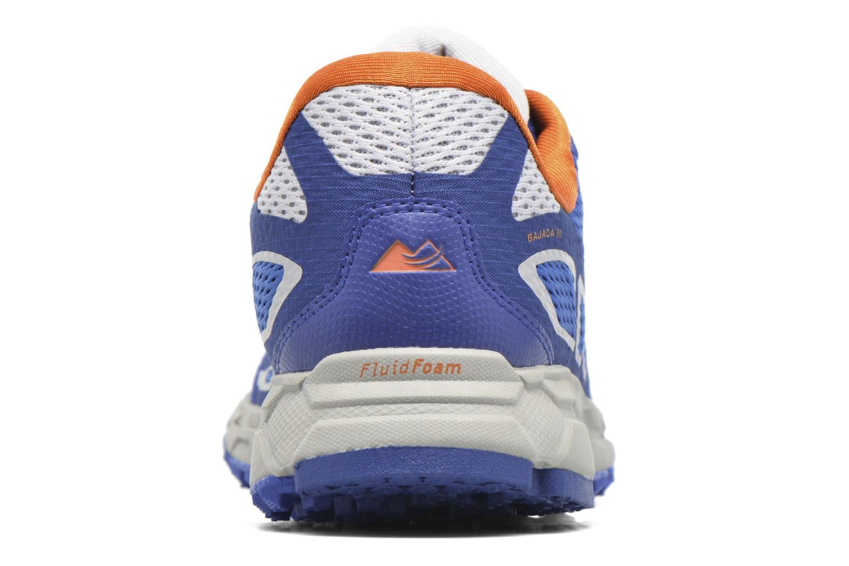 Chaussures de sport Columbia Bajada III Bleu vue droite