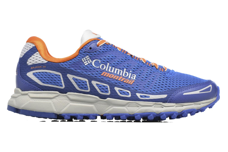 Chaussures de sport Columbia Bajada III Bleu vue derrière