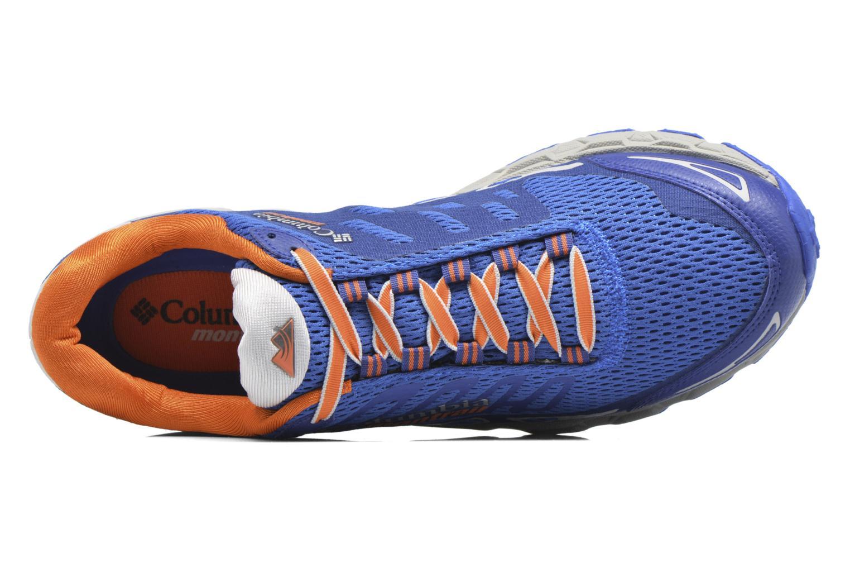 Chaussures de sport Columbia Bajada III Bleu vue gauche