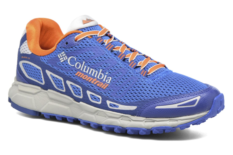 Chaussures de sport Columbia Bajada III Bleu vue détail/paire