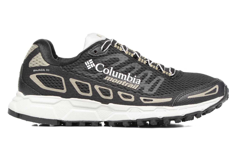 Chaussures de sport Columbia Bajada III W Noir vue derrière