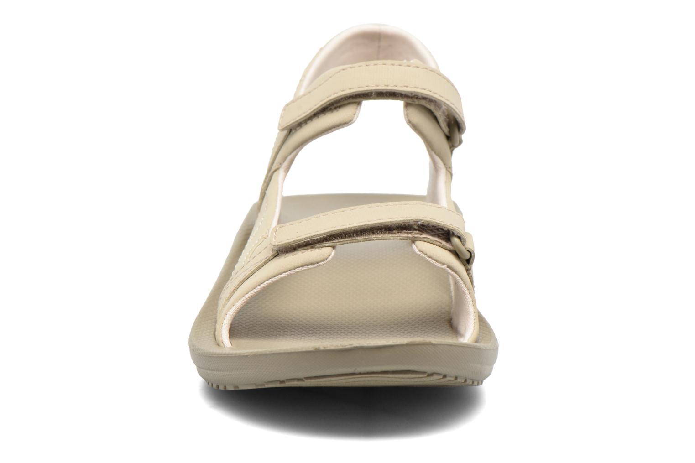 Chaussures de sport Columbia Barraca Sunlight Gris vue portées chaussures
