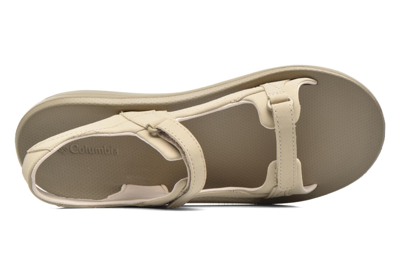 Chaussures de sport Columbia Barraca Sunlight Gris vue gauche