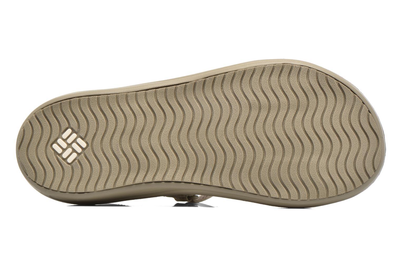 Chaussures de sport Columbia Barraca Sunlight Gris vue haut