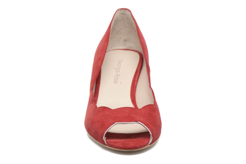 Escarpins Georgia Rose Expetio Rouge vue portées chaussures