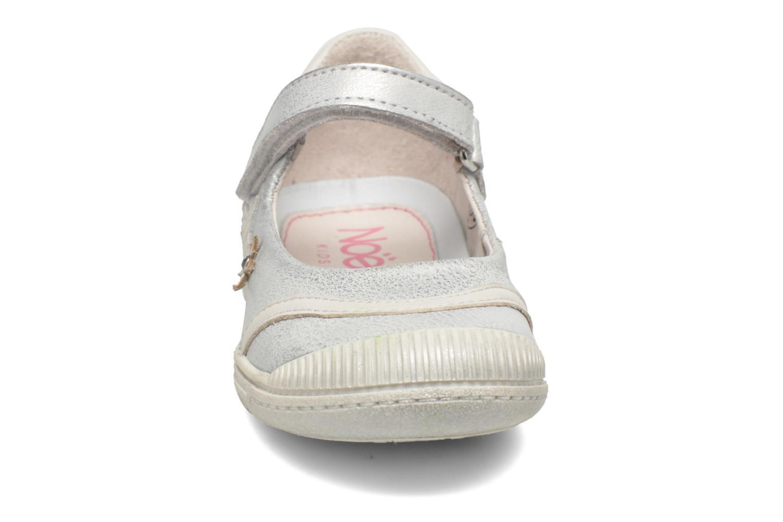 Ballerines Noël Princy Argent vue portées chaussures