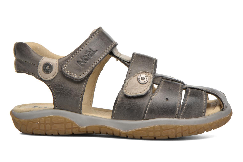 Sandales et nu-pieds Noël Tyler Gris vue derrière