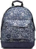 Mochilas Bolsos Premium Denim Spatter Backpack