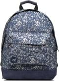 Premium Denim Spatter Backpack