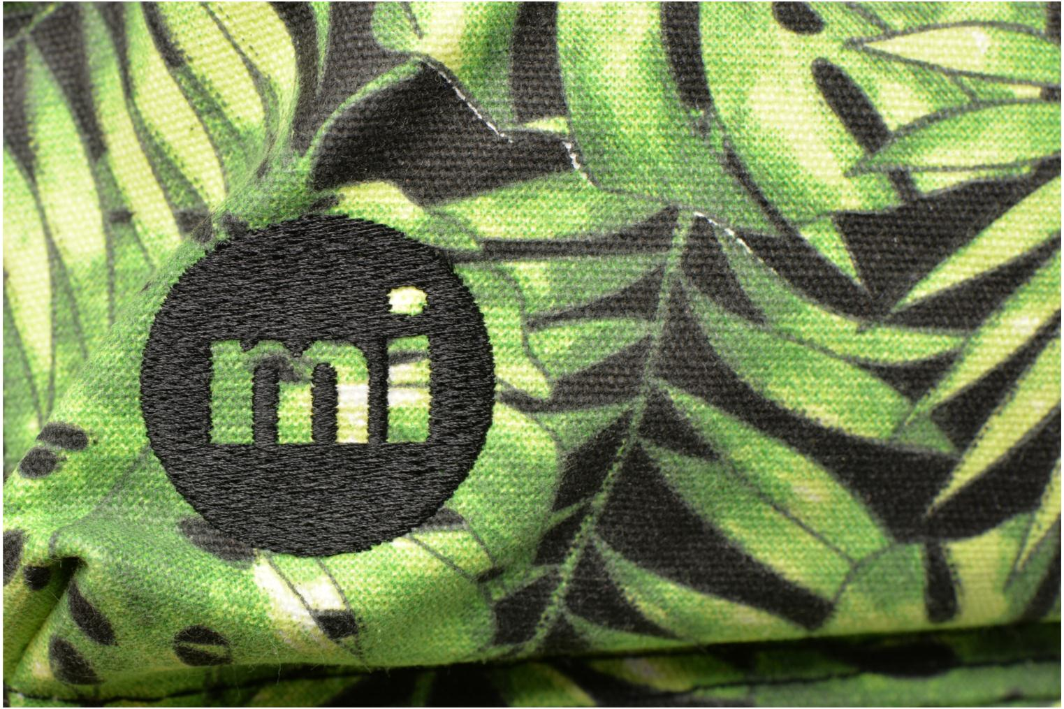 Rucksacks Mi-Pac Premium Print Green view from the left