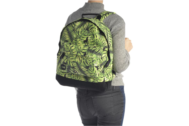 Sacs à dos Mi-Pac Premium Print Vert vue haut