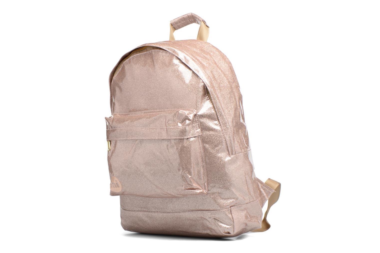 Sacs à dos Mi-Pac Gold Backpack Or et bronze vue portées chaussures