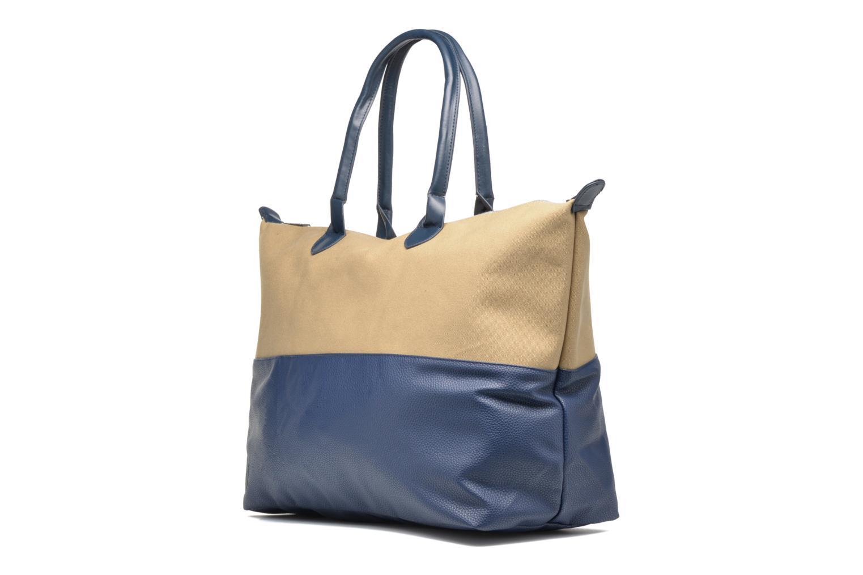 Bagages Mi-Pac Weekender Bag Bleu vue portées chaussures