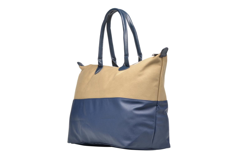 Bagages Mi-Pac Weekender Bag Bleu vue droite