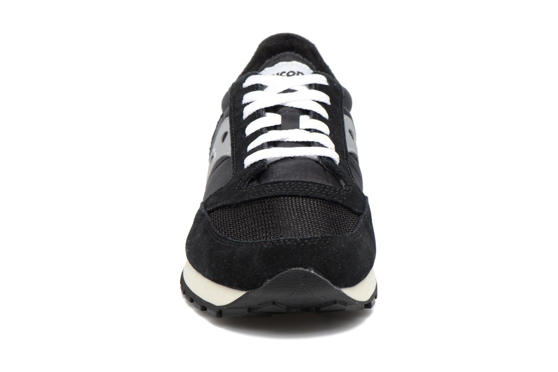 Baskets Saucony Jazz Original Vintage Noir vue portées chaussures