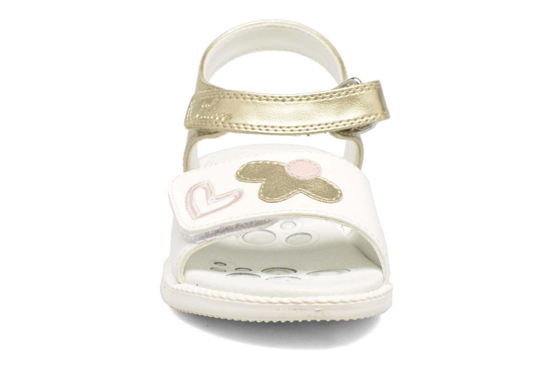 Sandales et nu-pieds Chicco Clarinda Blanc vue portées chaussures