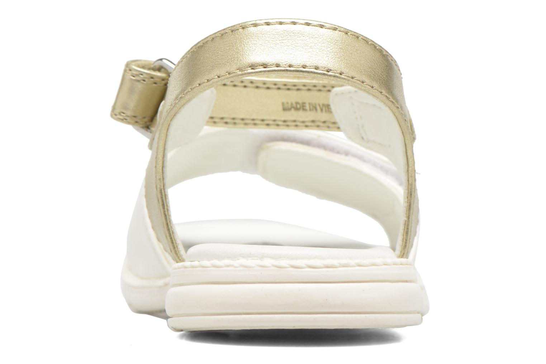 Sandales et nu-pieds Chicco Clarinda Blanc vue droite