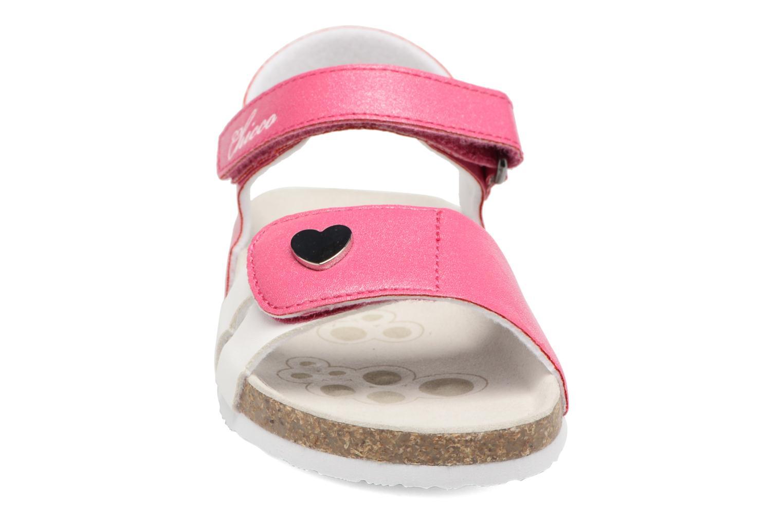 Sandales et nu-pieds Chicco Henetta Rose vue portées chaussures