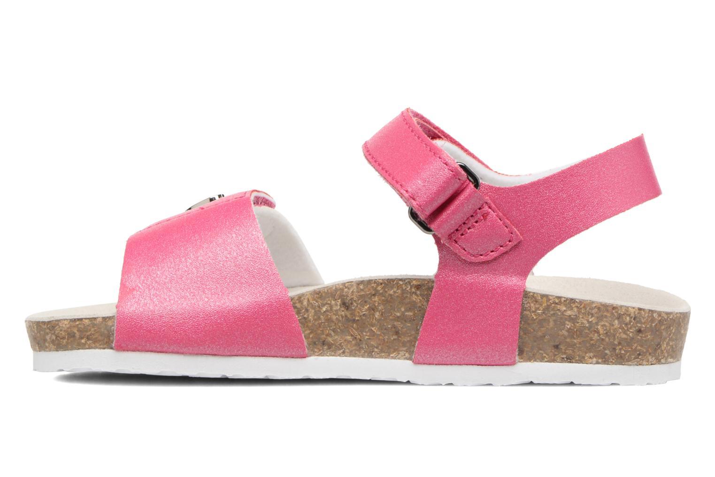 Sandales et nu-pieds Chicco Henetta Rose vue face