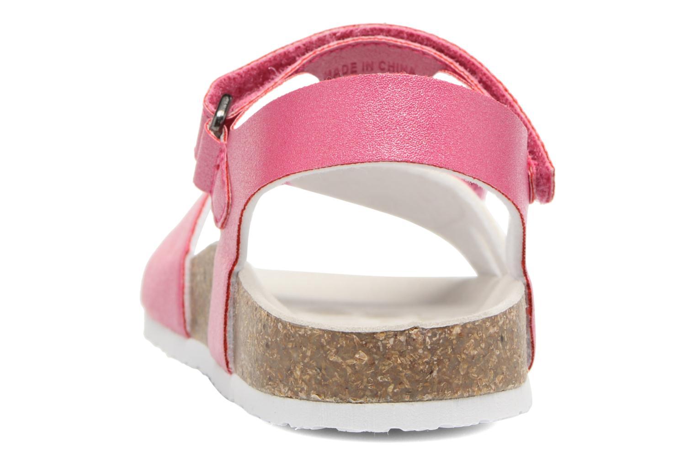 Sandales et nu-pieds Chicco Henetta Rose vue droite