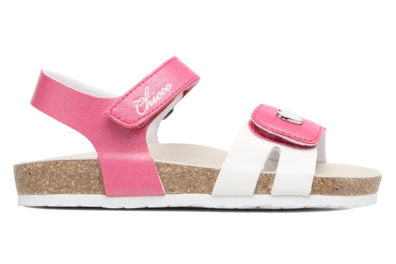 Sandales et nu-pieds Chicco Henetta Rose vue derrière