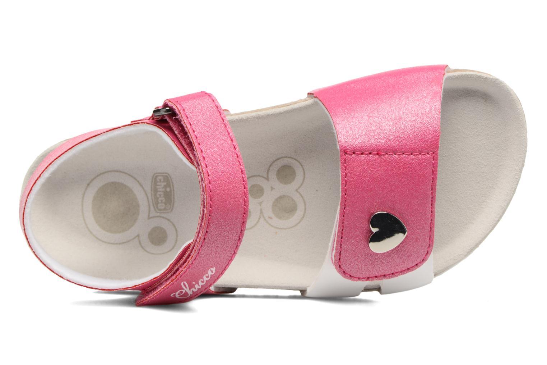 Sandales et nu-pieds Chicco Henetta Rose vue gauche