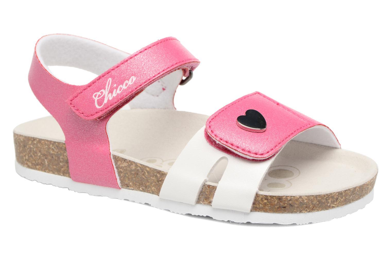 Sandales et nu-pieds Chicco Henetta Rose vue détail/paire