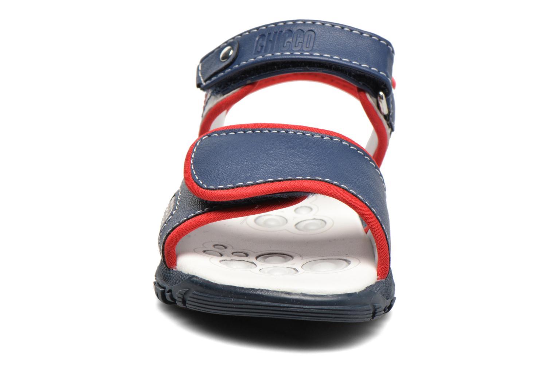 Sandales et nu-pieds Chicco Cric Bleu vue portées chaussures