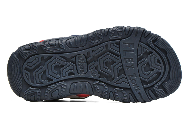 Sandales et nu-pieds Chicco Cric Bleu vue haut