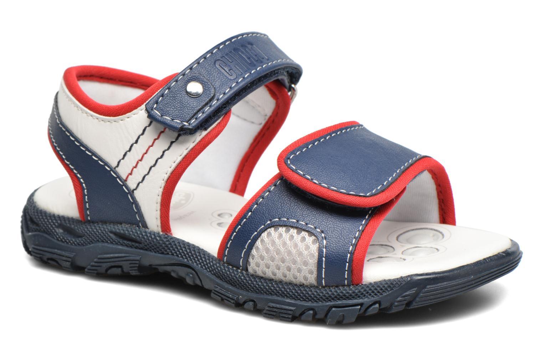 Sandales et nu-pieds Chicco Cric Bleu vue détail/paire