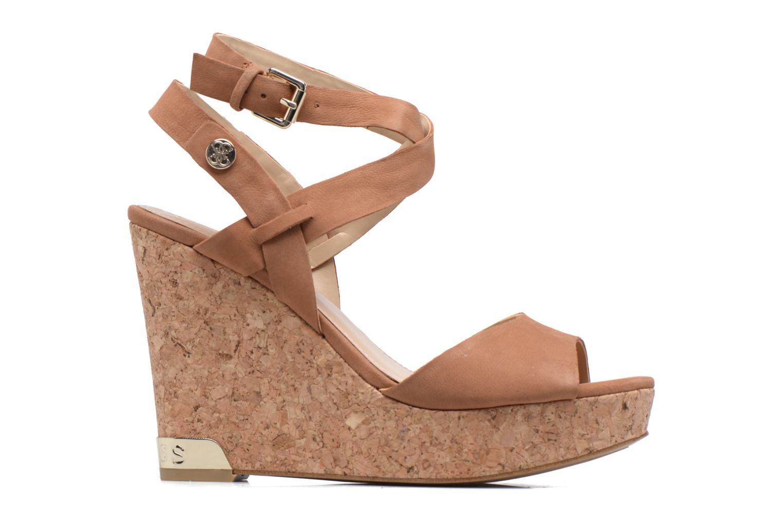 Sandales et nu-pieds Guess HARANA Marron vue derrière