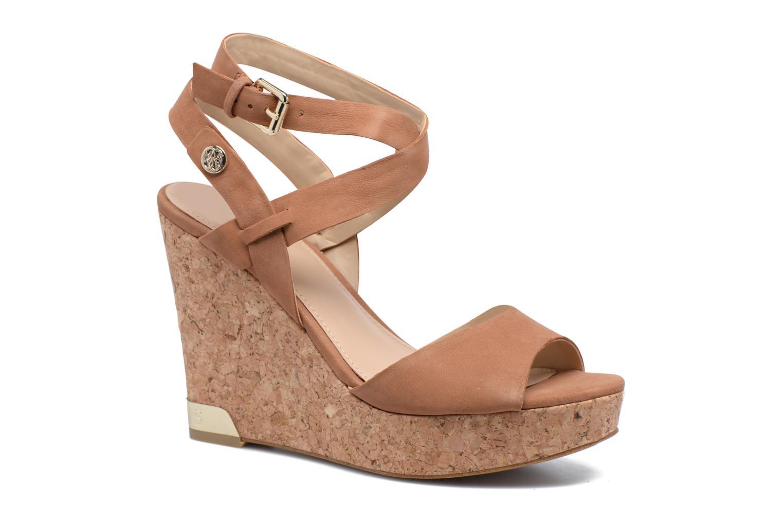 Sandales et nu-pieds Guess HARANA Marron vue détail/paire