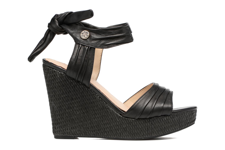 Sandales et nu-pieds Guess HAGEN Noir vue derrière