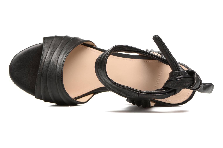 Sandales et nu-pieds Guess HAGEN Noir vue gauche