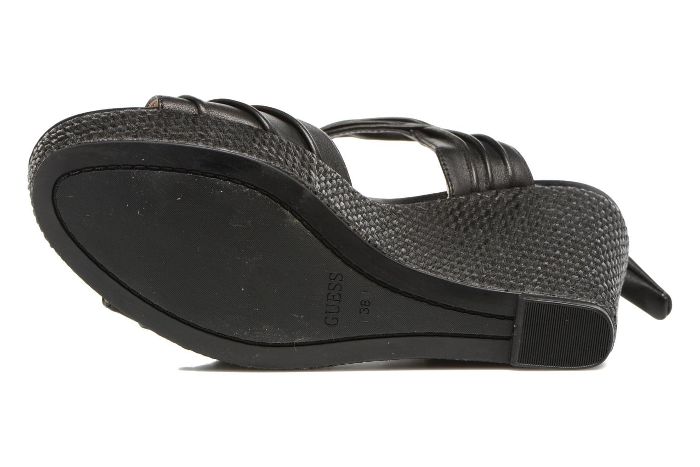 Sandales et nu-pieds Guess HAGEN Noir vue haut