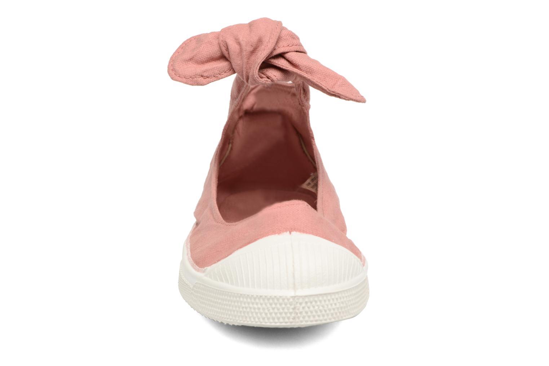 Ballet pumps Bensimon Tennis Flo Pink model view