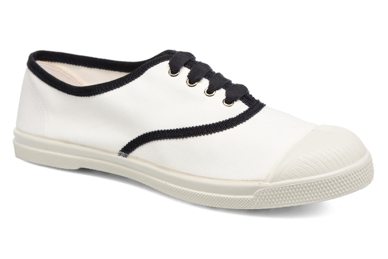 Tennis Lacet Gros Grain Blanc