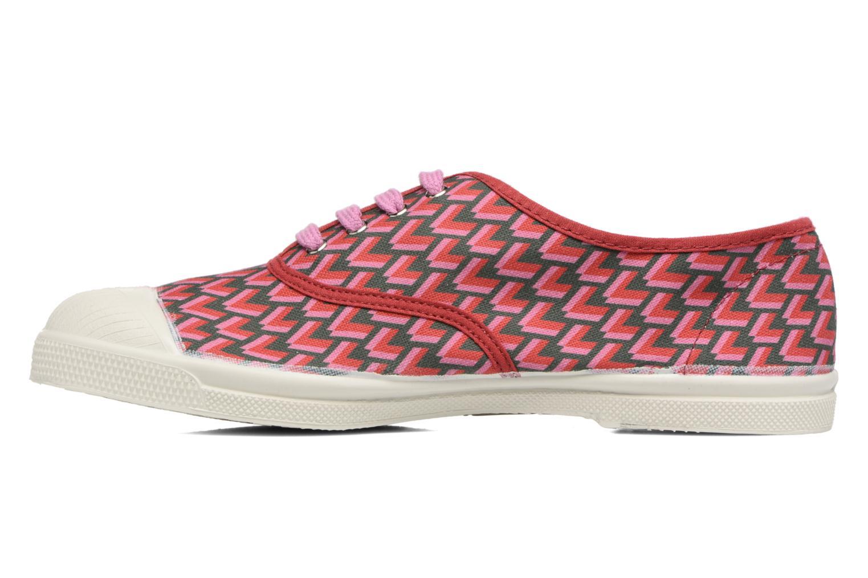 Sneakers Bensimon Tennis Retro Triangle Roze voorkant