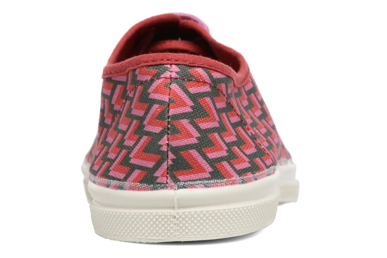Sneakers Bensimon Tennis Retro Triangle Roze rechts