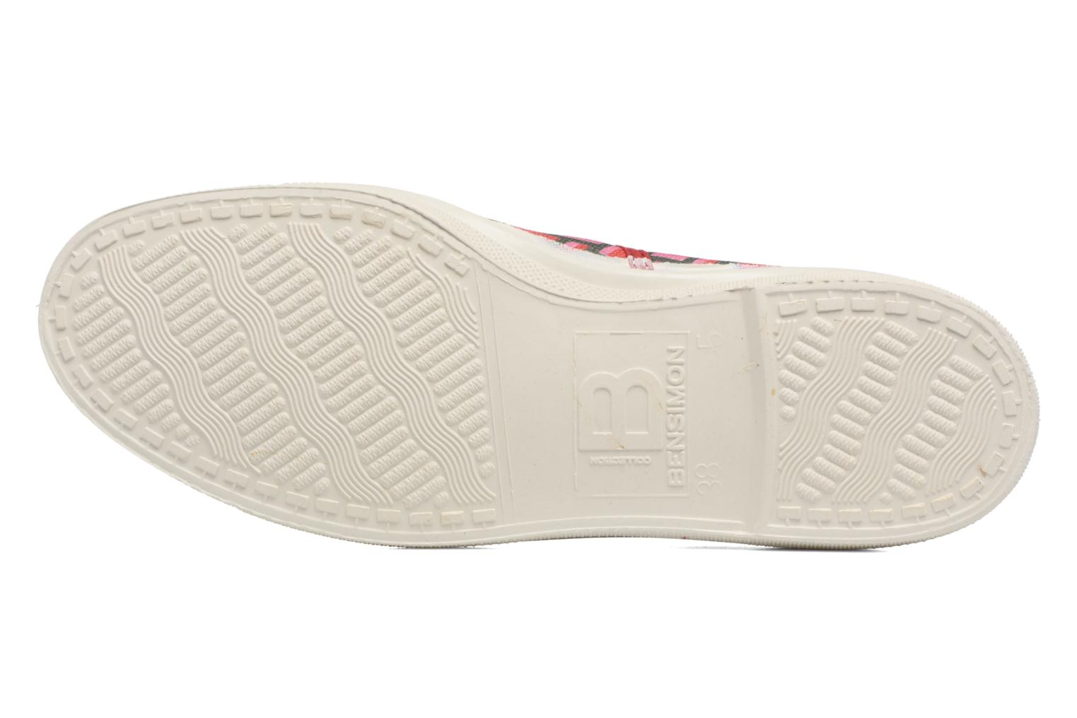 Trainers Bensimon Tennis Retro Triangle Pink view from above