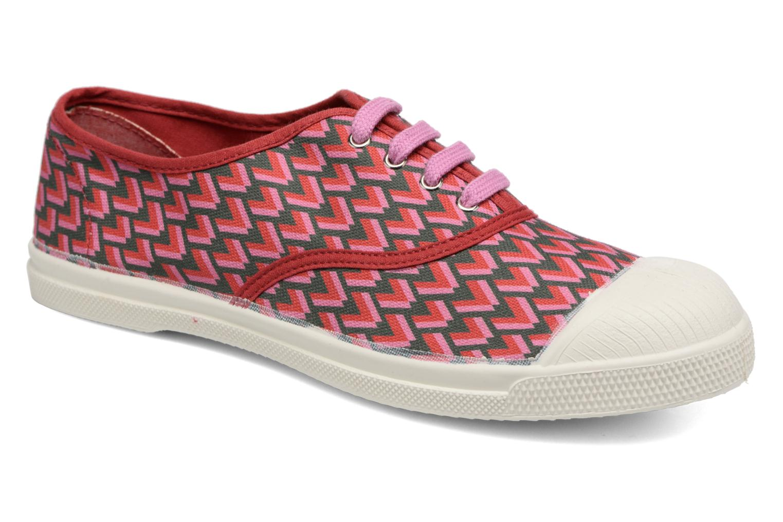 Tennis Retro Triangle Rose