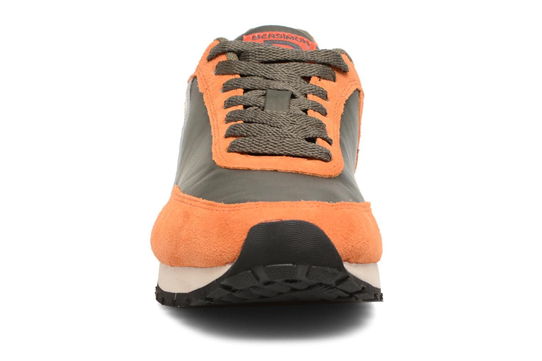 Baskets Bensimon Runnings Vert vue portées chaussures