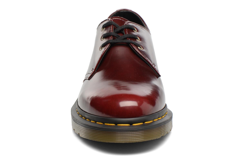 Chaussures à lacets Dr. Martens Vegan 1461 Bordeaux vue portées chaussures