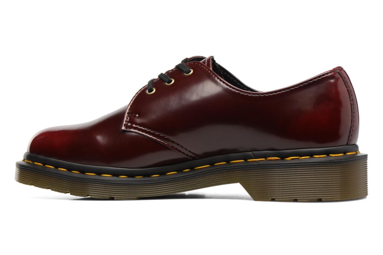 Chaussures à lacets Dr. Martens Vegan 1461 Bordeaux vue face