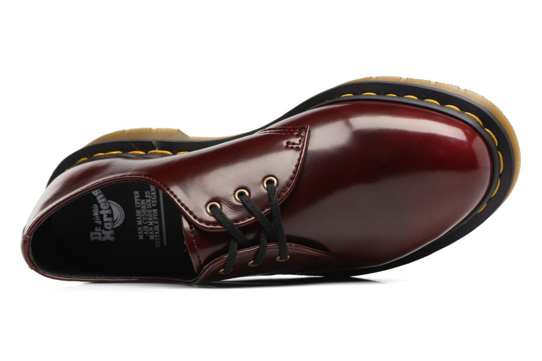 Chaussures à lacets Dr. Martens Vegan 1461 Bordeaux vue gauche