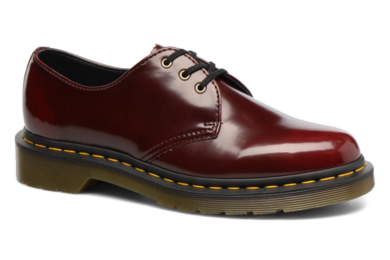 Chaussures à lacets Dr. Martens Vegan 1461 Bordeaux vue détail/paire
